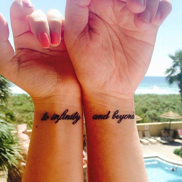 df44677b156c2 81 Cute Couple Tattoos That Will Warm Your Heart | StayGlam