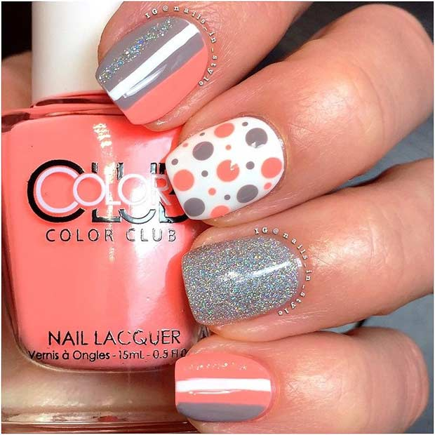 Unique and Easy Nail Design Idea for Short Nails - 55 Super Easy Nail Designs Page 5 Of 6 StayGlam