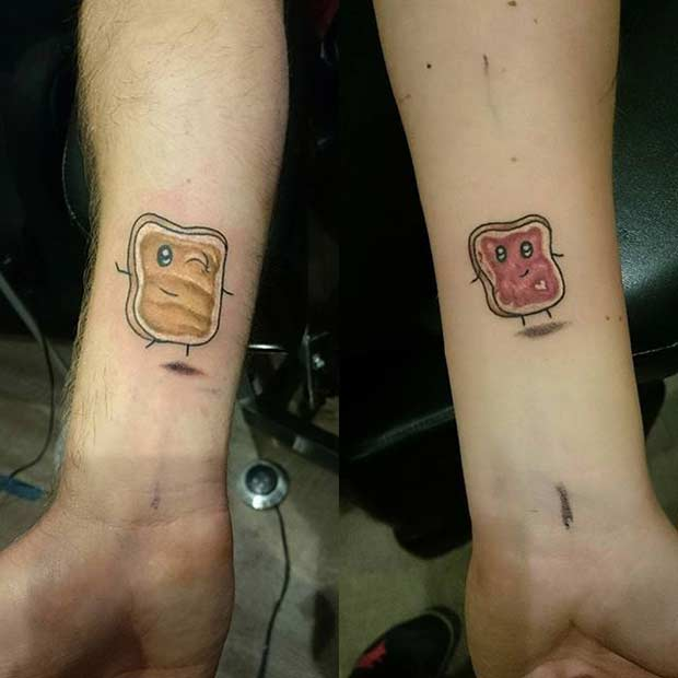 81 Cute Couple Tattoos That Will Warm Your Heart Page 4 Of 8