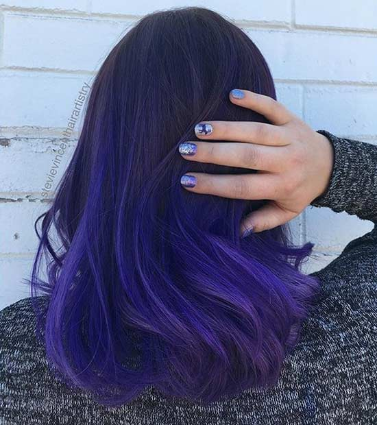 31 colorful hair looks to inspire your next dye job stayglam. Black Bedroom Furniture Sets. Home Design Ideas