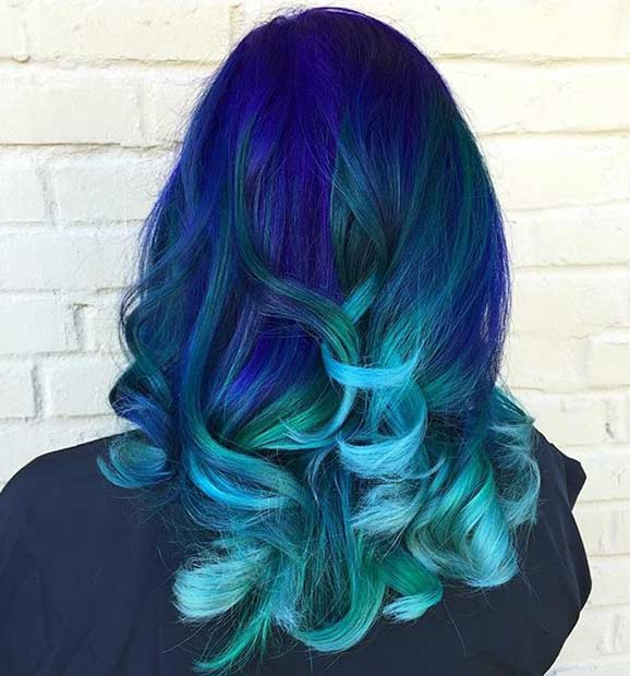 31 colorful hair looks to inspire your next dye job page. Black Bedroom Furniture Sets. Home Design Ideas