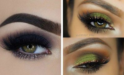 31 Pretty Eye Makeup Looks For Green Eyes Stayglam