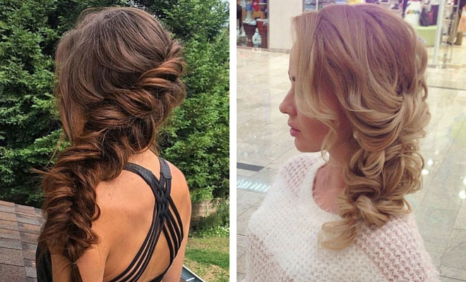 21 pretty side swept hairstyles for prom page 2 of 2 stayglam instagram solutioingenieria