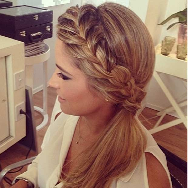 Incredible 25 Elegant Ponytail Hairstyles For Special Occasions Stayglam Short Hairstyles Gunalazisus