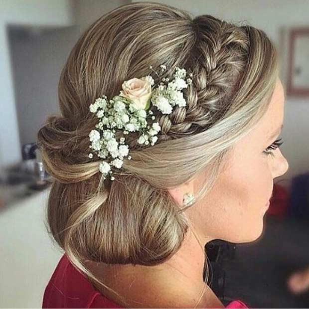 Stupendous 35 Gorgeous Updos For Bridesmaids Stayglam Hairstyles For Men Maxibearus