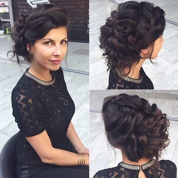 35 Gorgeous Updos For Bridesmaids Page 3 Of 3 Stayglam