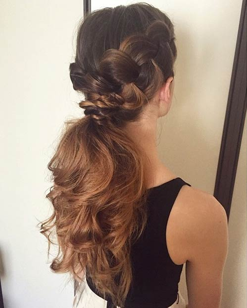 25 Elegant Ponytail Hairstyles for Special Occasions advise