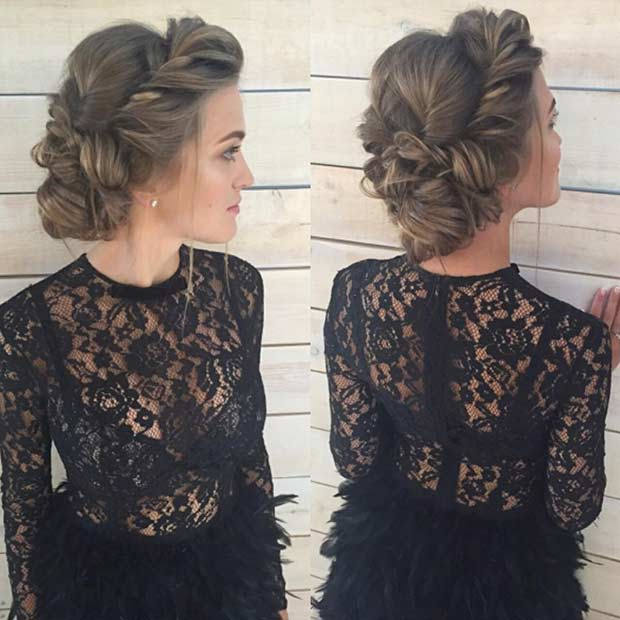 31 Most Beautiful Updos for Prom | Page 3 of 3 | StayGlam