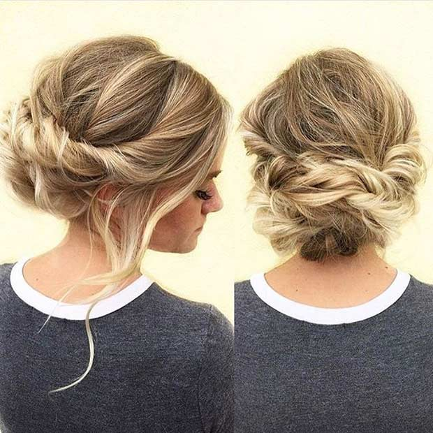 Romantic Prom Updo