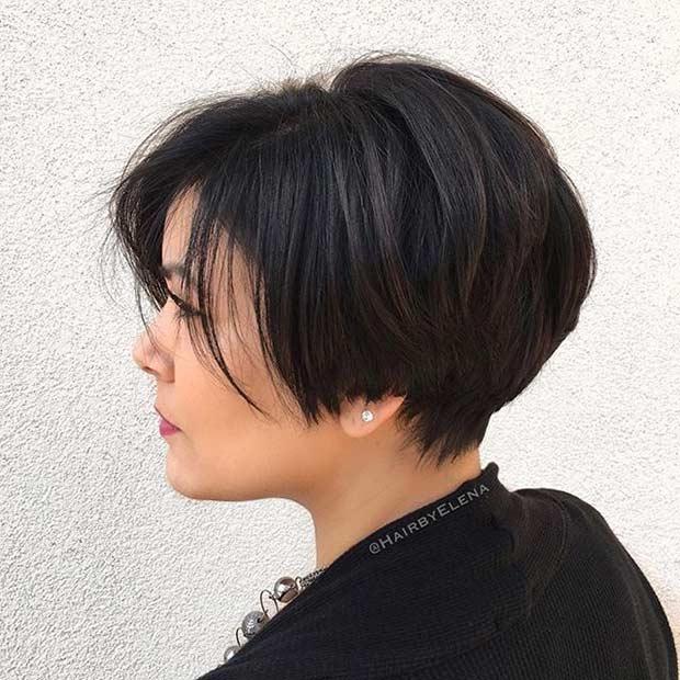 Bouncy Pixie Haircut