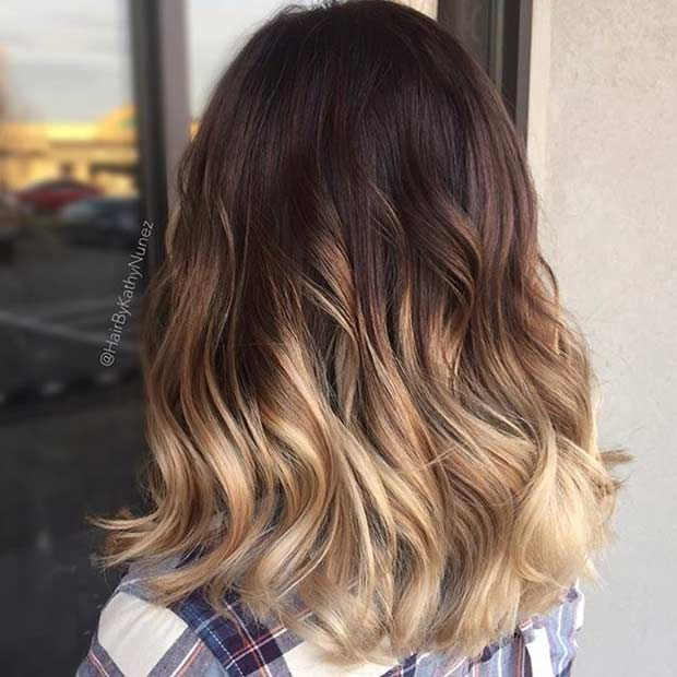Ombre Lob Haircut 31 gorgeous long bob hairstyles page 2 of 3 stayglam