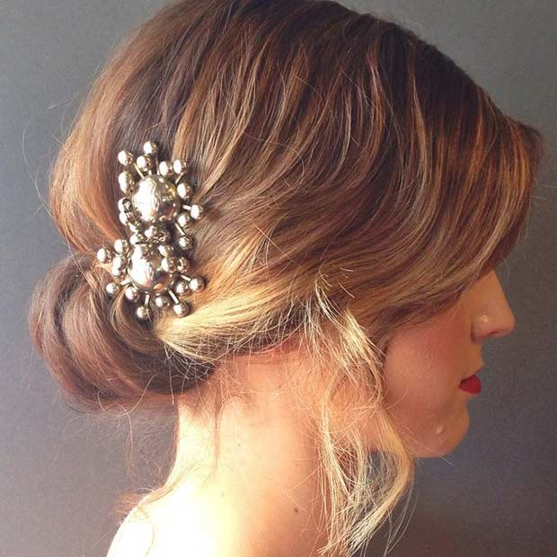 Surprising 31 Wedding Hairstyles For Short To Mid Length Hair Stayglam Short Hairstyles For Black Women Fulllsitofus