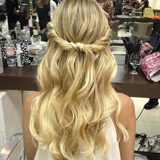 31 Half Up, Half Down Prom Hairstyles | Page 3 of 3 | StayGlam
