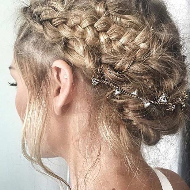 35 Gorgeous Updos for Bridesmaids | StayGlam