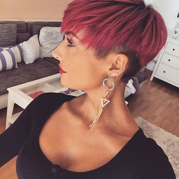 71 best short and long pixie cuts we love for 2019 stayglam for Soggiorni moderni rossi