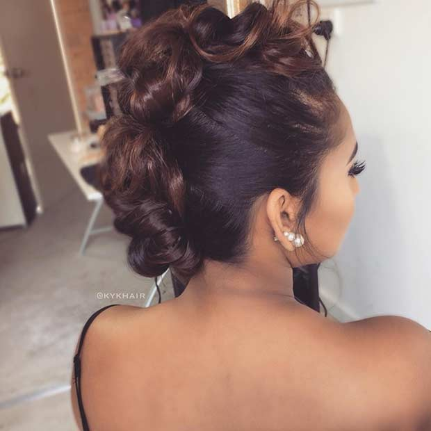 35 Gorgeous Updos For Bridesmaids Stayglam