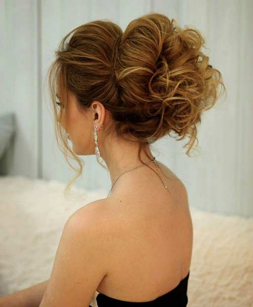 35 gorgeous updos for bridesmaids page 3 of 3 stayglam. Black Bedroom Furniture Sets. Home Design Ideas