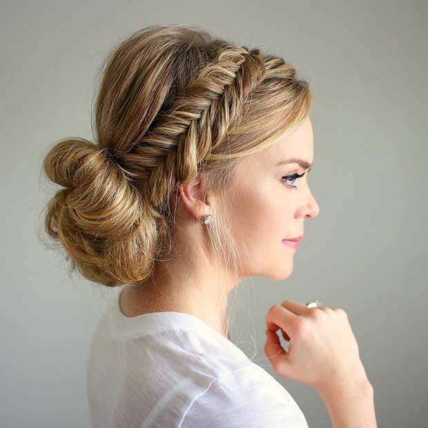 Low Loose Bun Hairstyles For Weddings: 35 Gorgeous Updos For Bridesmaids