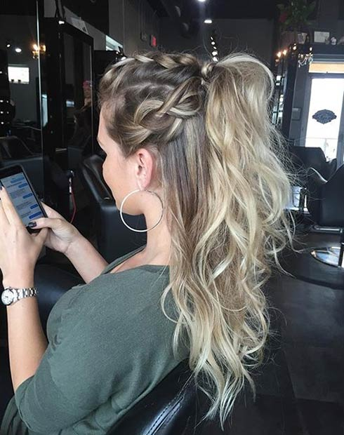25 Elegant Ponytail Hairstyles For Special Occasions Stayglam