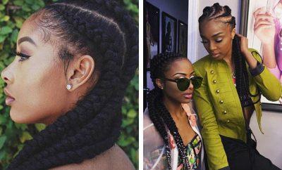 Ghana Braids Hairstyles