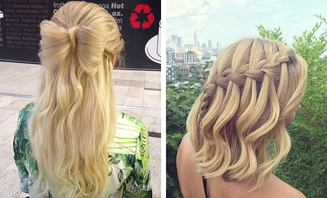 Hairstyles Up And Down : ... Hairstyles For Long Hair. on hairstyles for prom half up down hair
