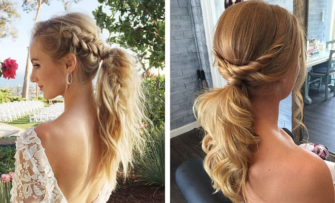 25 Elegant Ponytail Hairstyles for Special Occasions | StayGlam