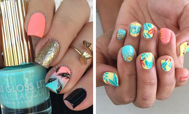 Instagram - 35 Bright Summer Nail Designs StayGlam