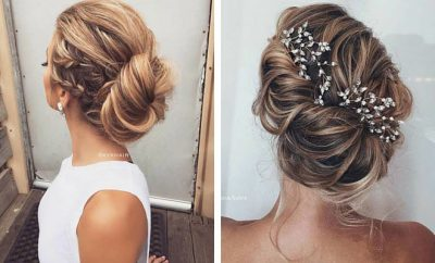 Updos for Bridesmaids
