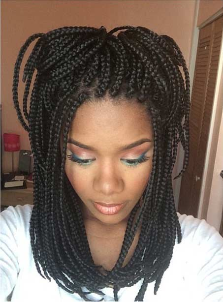 51 Hot Poetic Justice Braids Styles | StayGlam