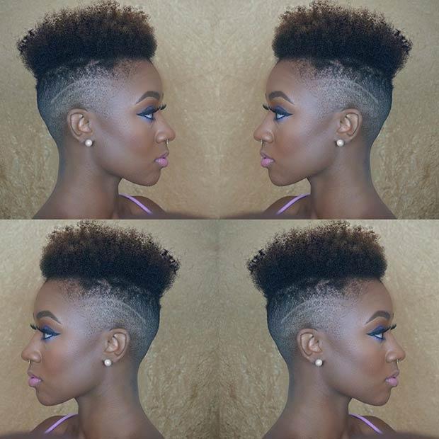 Terrific 31 Best Short Natural Hairstyles For Black Women Stayglam Hairstyles For Men Maxibearus