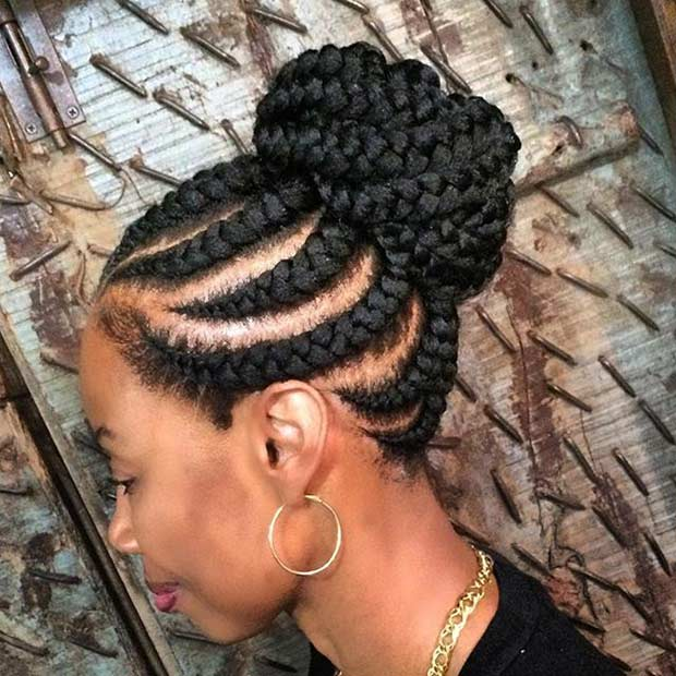31 Best Ghana Braids Hairstyles | Page 2 of 3 | StayGlam