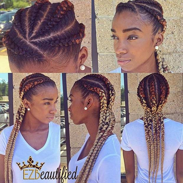 31 Best Ghana Braids Hairstyles Stayglam