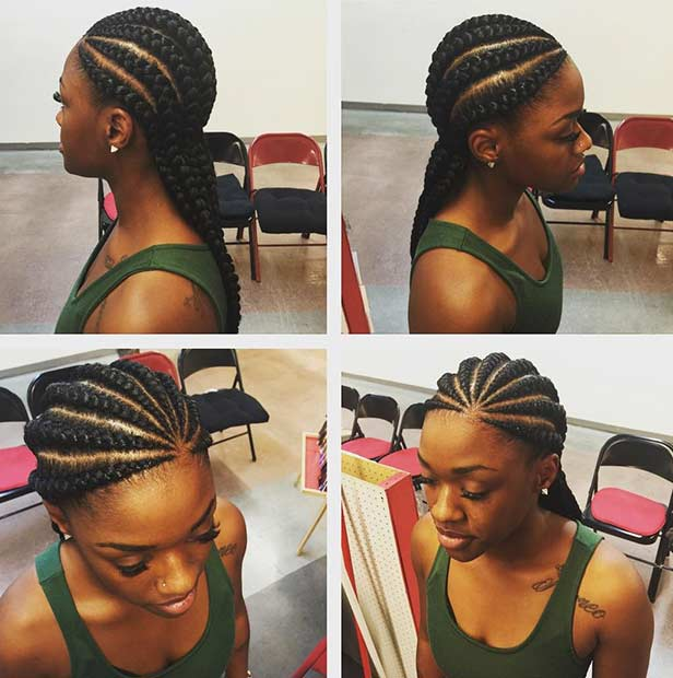 31 Best Ghana Braids Hairstyles | Page 3 of 3