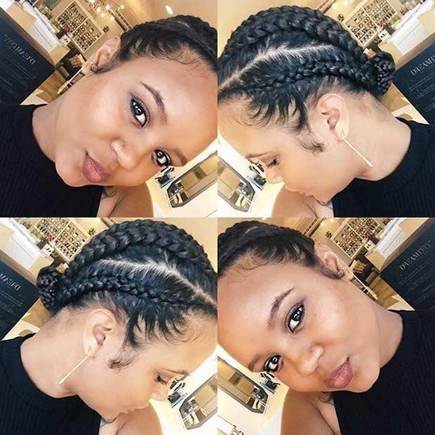 Cool 31 Best Ghana Braids Hairstyles Stayglam Hairstyles For Men Maxibearus