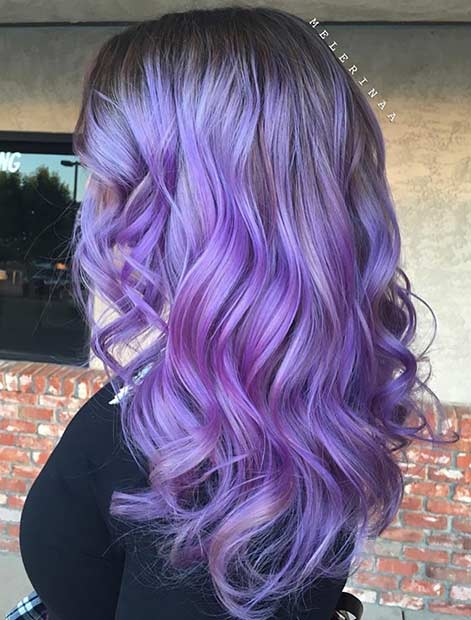 25 Beautiful Lavender Hair Color Ideas Page 3 Of 3