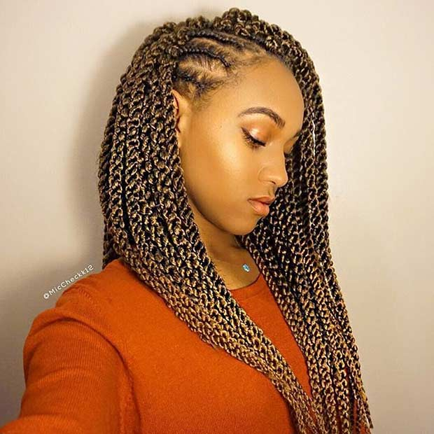 31 stunning crochet twist hairstyles page 2 of 3 stayglam for Crochet braids salon