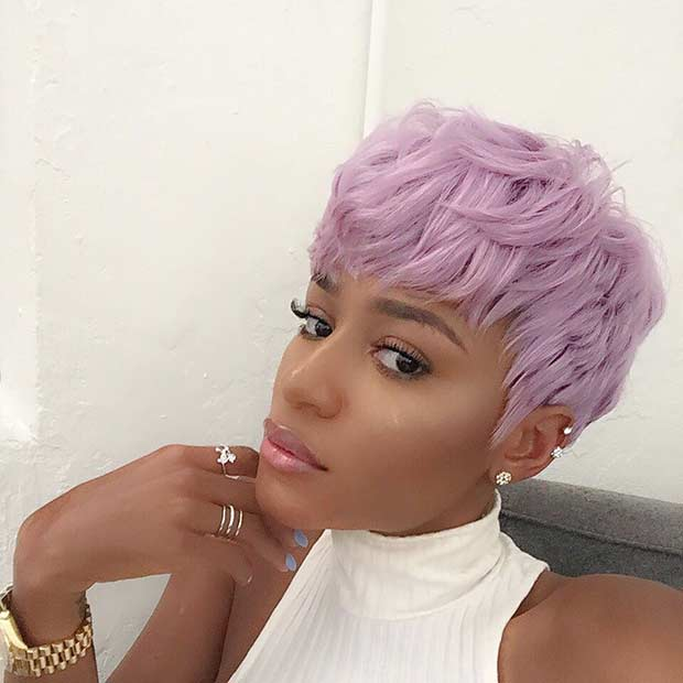 25 Beautiful Lavender Hair Color Ideas Page 2 Of 3