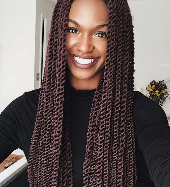 Senegalese Twist Crochet Hair Styles : 31 Stunning Crochet Twist Hairstyles StayGlam