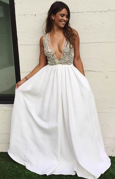 31 most beautiful wedding dresses page 2 of 3 stayglam for Most sexy wedding dresses