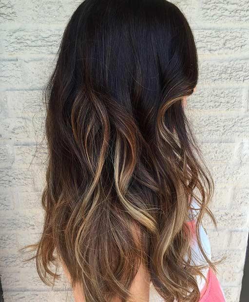 Light Blonde Hair With Lowlights Caramel