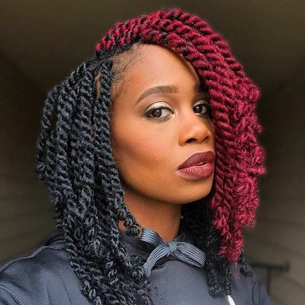 Crochet Twist Styles : 31 Stunning Crochet Twist Hairstyles StayGlam
