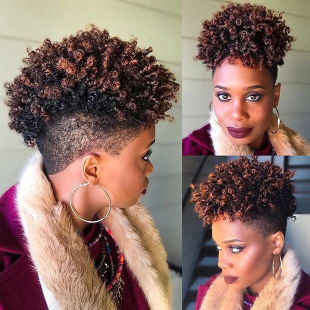 31 Best Short Natural Hairstyles for Black Women | Page 3 of 3 | StayGlam