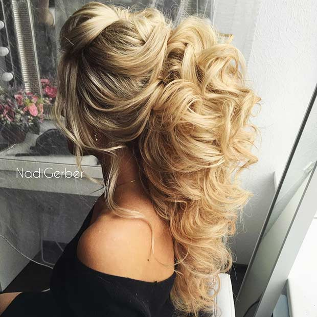 Half Updos For Thin Hair: 31 Half Up, Half Down Hairstyles For Bridesmaids