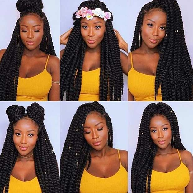 Can Crochet Box Braids Get Wet : 31 Stunning Crochet Twist Hairstyles Page 3 of 3 StayGlam