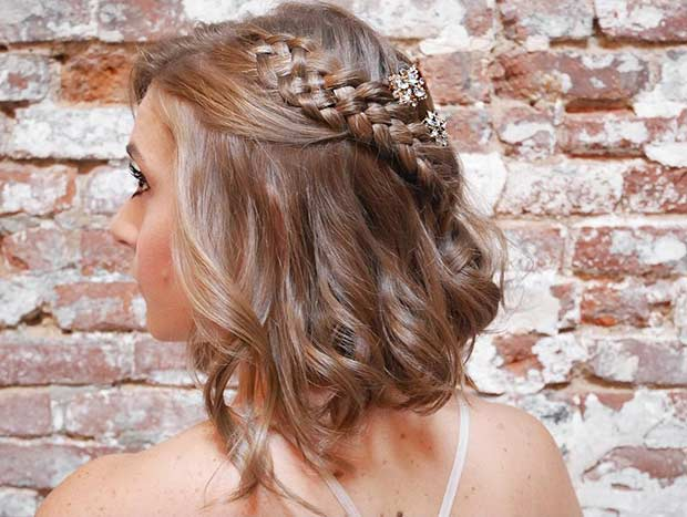 31 Half Up Half Down Hairstyles For Bridesmaids Page 3 Of 3