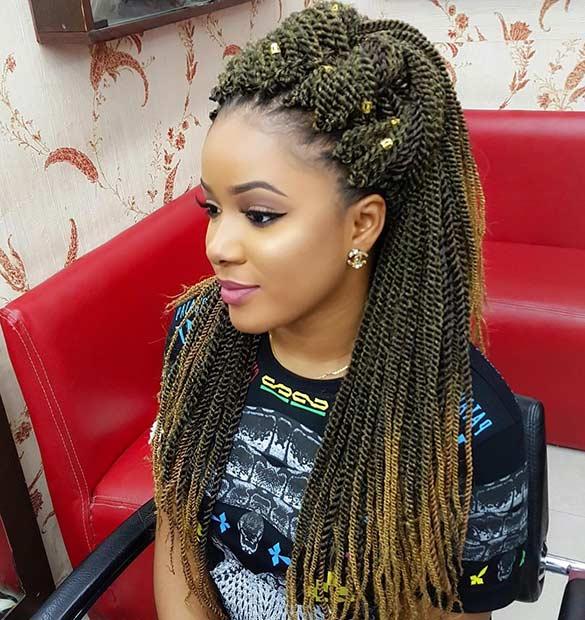 Fantastic 31 Stunning Crochet Twist Hairstyles Stayglam Short Hairstyles Gunalazisus