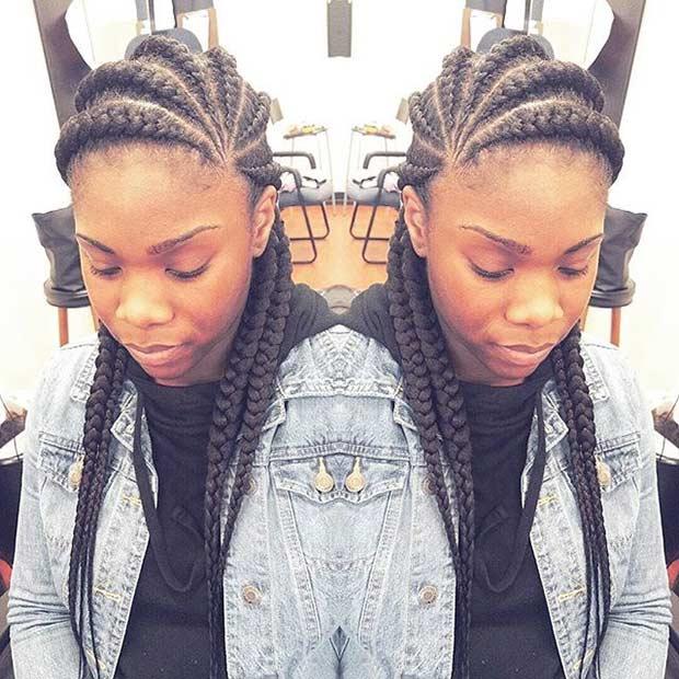 31 Best Ghana Braids Hairstyles Page 3 Of 3 Stayglam