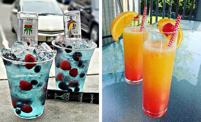 Summer Mixed Drinks Simple