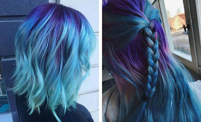 25 Amazing Blue And Purple Hair Looks Page 3 Of 3 Stayglam