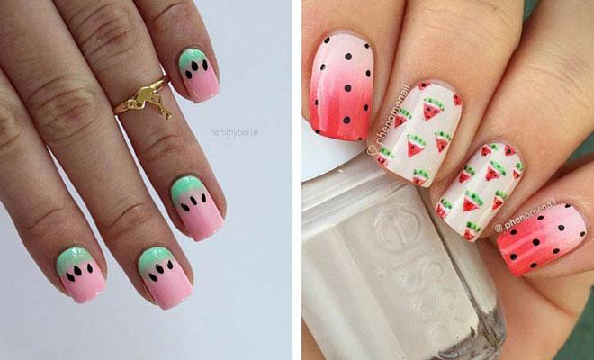 - 21 Cute Watermelon Nail Ideas StayGlam